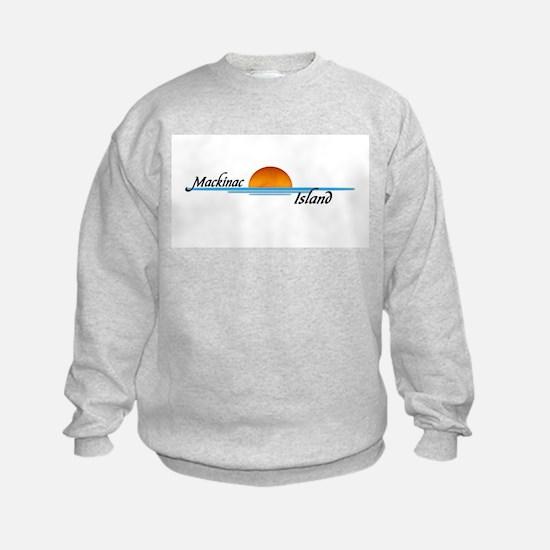 Mackinac Island Sunset Sweatshirt