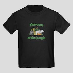 Rowan of the Jungle Kids Dark T-Shirt