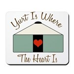 Where the Heart Is.. Mousepad