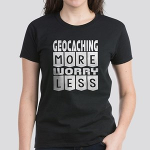 Geocaching More Worry Less T-Shirt