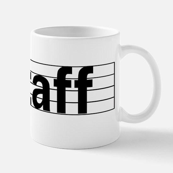 Music Staff Mug