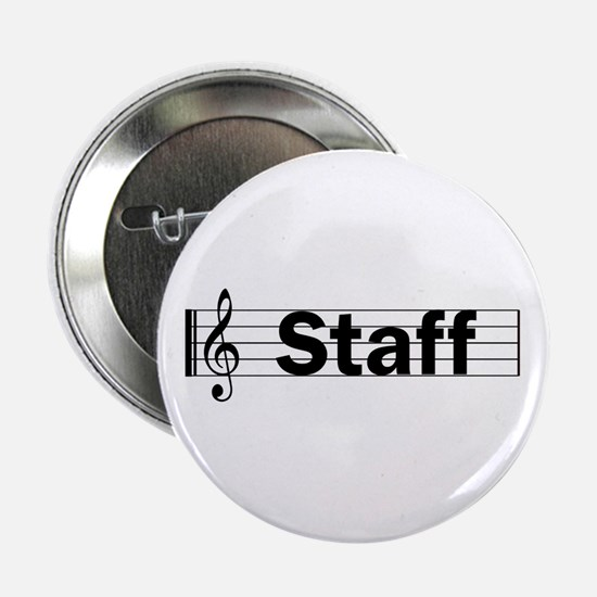 """Music Staff 2.25"""" Button"""