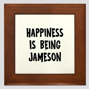 Happiness is being Jameson Framed Tile