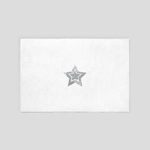 Cowboy star 4' x 6' Rug