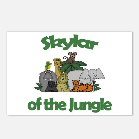 Skylar of the Jungle Postcards (Package of 8)