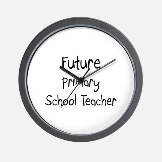 Future Primary School Teacher Wall Clock