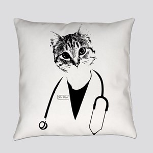 Dr. Cat Everyday Pillow