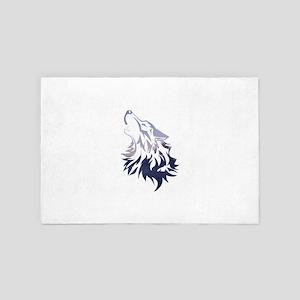 Wolf 4' x 6' Rug