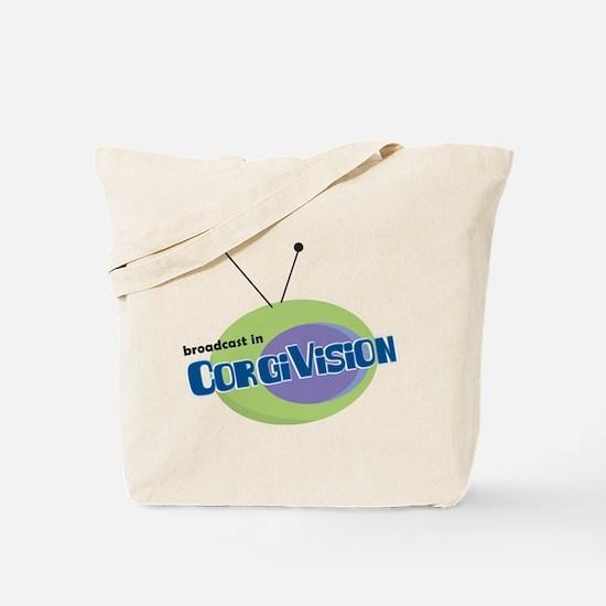 CorgiVision Tote Bag