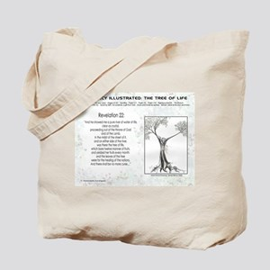 Tree Of Life Bible Scripture Tote Bag