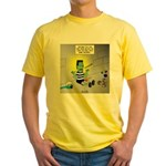 Bad Book for Frankenstein Yellow T-Shirt