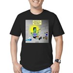 Bad Book for Frankenst Men's Fitted T-Shirt (dark)