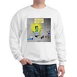 Bad Book for Frankenstein Sweatshirt