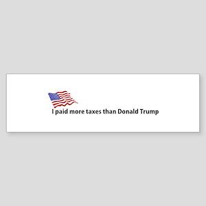 Donald trump 2016 bumper stickers cafepress i paid more bumper sticker colourmoves