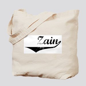 Zain Vintage (Black) Tote Bag