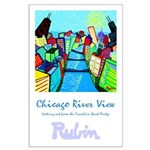 Large Poster<br>Chicago River View