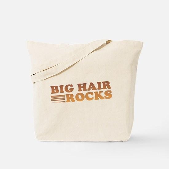 Big Hair Rocks 80's Tote Bag