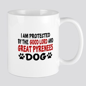 Protected By Great Pyrenees Dog Mug