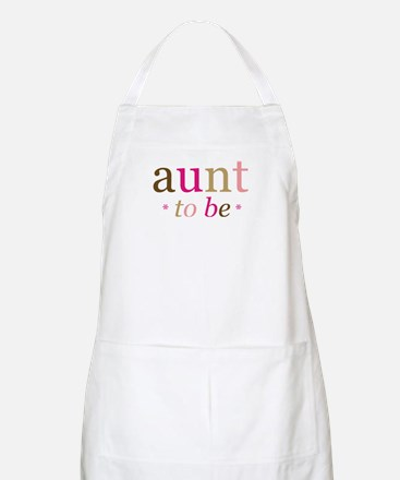 Aunt to be (fun) BBQ Apron