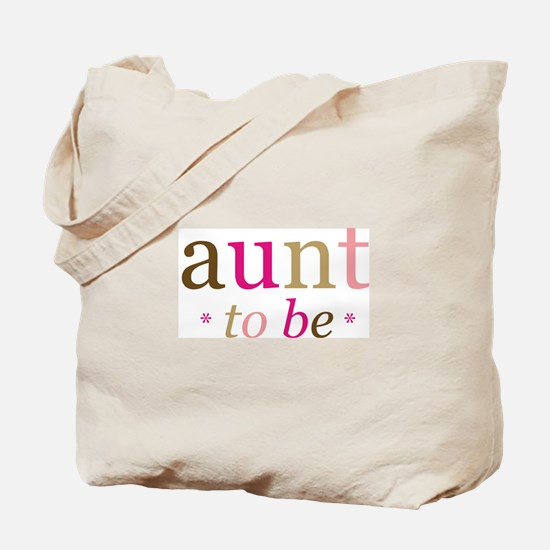 Aunt to be (fun) Tote Bag