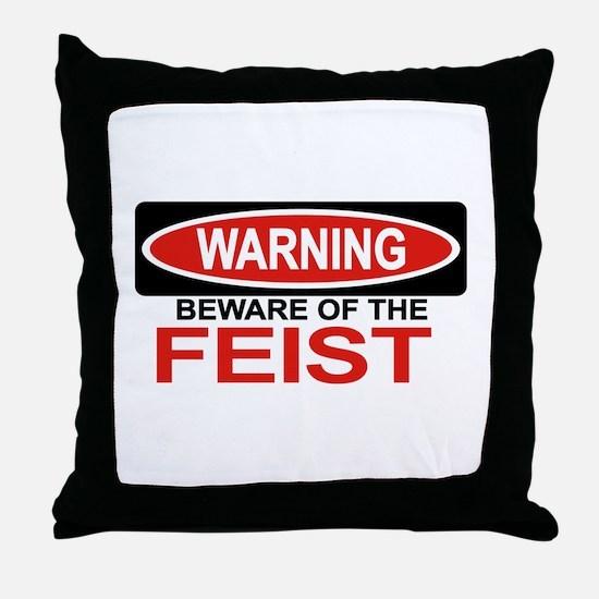 FEIST Throw Pillow