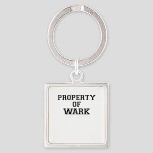 Property of WARK Keychains