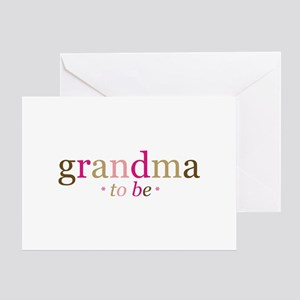 Grandma to be (fun) Greeting Card