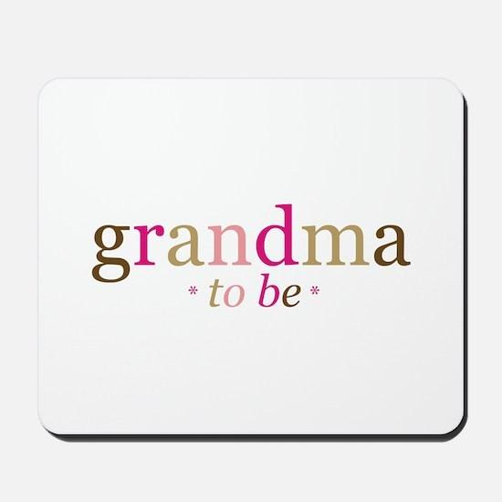 Grandma to be (fun) Mousepad