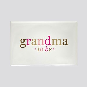 Grandma to be (fun) Rectangle Magnet