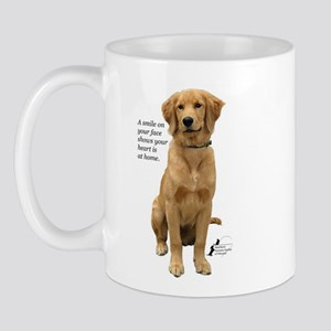 Smiling Golden Retriever Mug