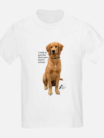 Smiling Golden Retriever T-Shirt