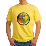 Autism Awareness Jewel Yellow T-Shirt