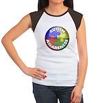 Autism Awareness Jewel Women's Cap Sleeve T-Shirt