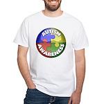 Autism Awareness Jewel White T-Shirt