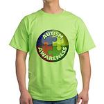 Autism Awareness Jewel Green T-Shirt