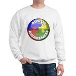 Autism Awareness Jewel Sweatshirt