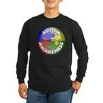 Autism Awareness Jewel Long Sleeve Dark T-Shirt
