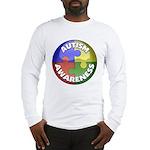 Autism Awareness Jewel Long Sleeve T-Shirt