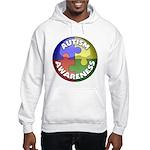 Autism Awareness Jewel Hooded Sweatshirt