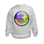 Autism Awareness Jewel Kids Sweatshirt