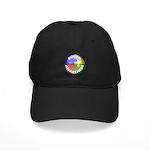 Autism Awareness Jewel Black Cap