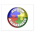 Autism Awareness Jewel Small Poster