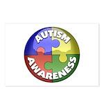 Autism Awareness Jewel Postcards (Package of 8)