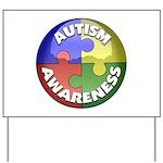 Autism Awareness Jewel Yard Sign