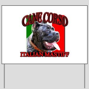 Cane Corso Italian Mastiff Yard Sign
