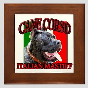 Cane Corso Italian Mastiff Framed Tile
