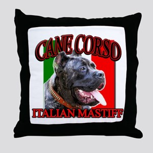 Cane Corso Italian Mastiff Throw Pillow