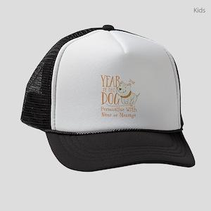 CUSTOM Cute Year Of The Dog Kids Trucker hat