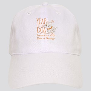 CUSTOM Cute Year Of The Dog Baseball Cap