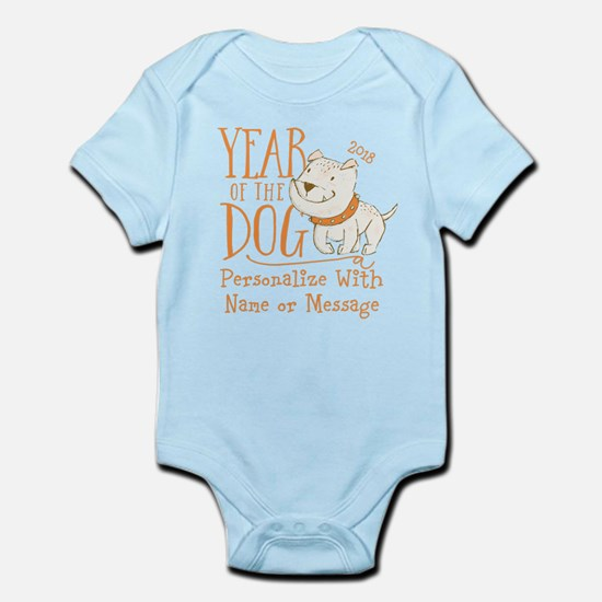CUSTOM Cute Year Of The Dog Body Suit